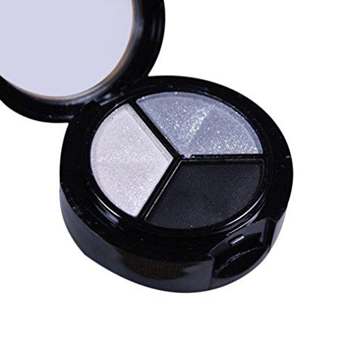 Matte Eyeshadow,CYCTECH Fashion Smoky Cosmetic Set 3 Colors