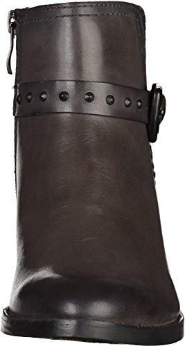 Marco Tozzi botas damas tobillo 2-25038-25 069 negro, tamaño 37 a 41, de cuero gris