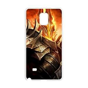 Guardianes de la Tierra Media 6 Samsung Galaxy Note 4 caja del teléfono celular funda blanca del teléfono celular Funda Cubierta EEECBCAAG04442
