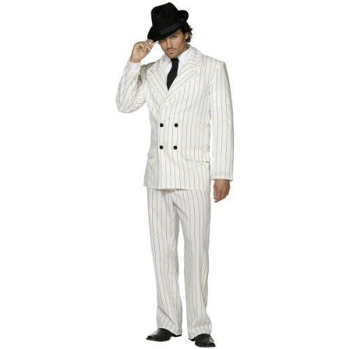 [Fever Men's Gangster Costume] (1920s Halloween Costumes)