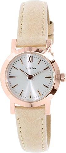 Bulova Women's 97L148 Classic Analog Display Quartz Beige Watch