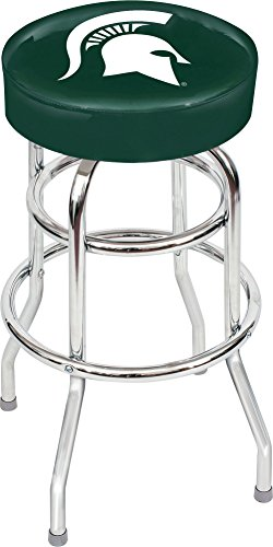 Michigan State Seat Cushion - Imperial Officially Licensed NCAA Furniture: Swivel Seat Bar Stool, Michigan State Spartans