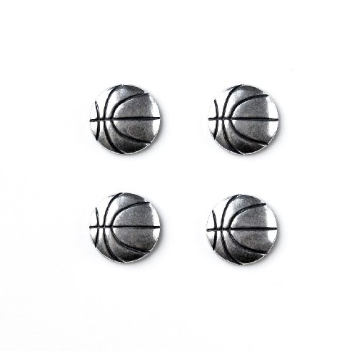 Basketball Tuxedo Studs by Quality Handcrafts Guaranteed