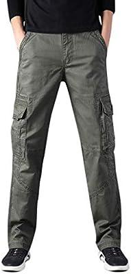 Large Size Casual Pants Mens Trousers Fashion Multi-Pocket Pants