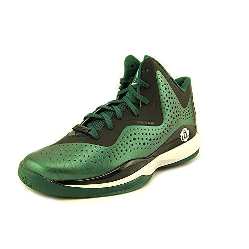 best loved 58685 f256f ... sweden adidas d rose 773 iii baloncesto para hombre del zapato colegial  verde el funcionamiento blanco