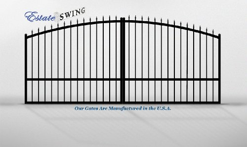 Estate Swing 14ft Dual Aluminum Driveway Gate