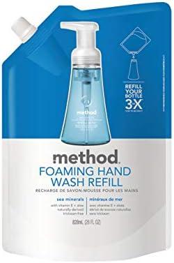 Method Foaming Hand Soap Refill Sea Minerals 28 Ounce