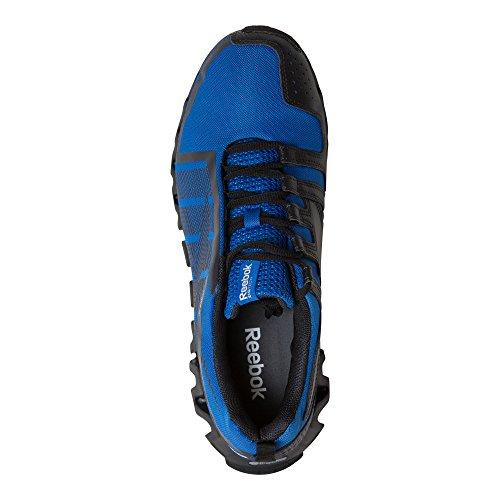 Reebok Mens Zigwild Tr 2 M Scarpe Da Corsa Blu Vitale, Carbone, Bianco, Nero