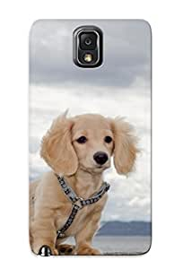 Exultantor Galaxy Note 3 Hybrid Tpu Case Cover Silicon Bumper Water Clouds Animals Dogs Outdoors Pets