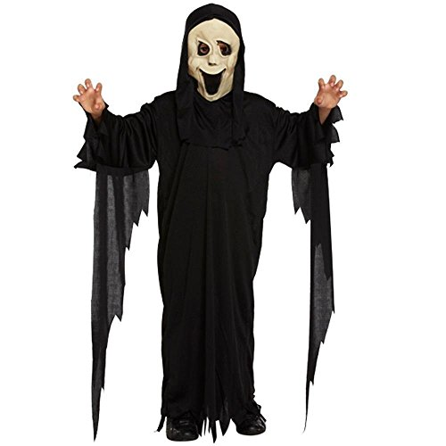Demon Halloween Costumes (Demon Ghost - Child's Halloween Costume (Size Medium - Age 7 to 9) by Dress Up)