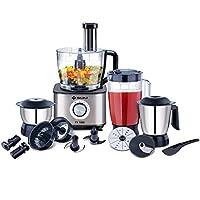 Bajaj FX-1000 1000-Watt Food Processor (Black/Silver)