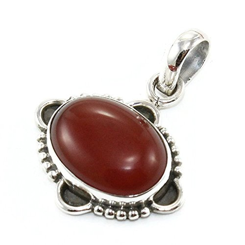 Red Onyx Gem Pendant - Nathis RED Onyx Gemstone Pendant