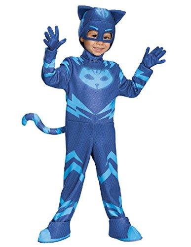 (Catboy Deluxe Toddler PJ Masks Costume,)