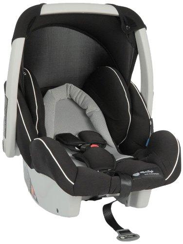 MediSafe 930045 Babyschale Cocomoon, Gruppe 0, 0-13 kg, grau-schwarz