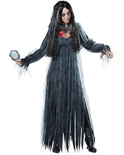 Sansberia Women's Halloween Dead Bride Costume Ghost Bride Cosplay Dress
