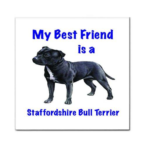 My Best Friend is Staffordshire Bull Terrier Tile Trivet