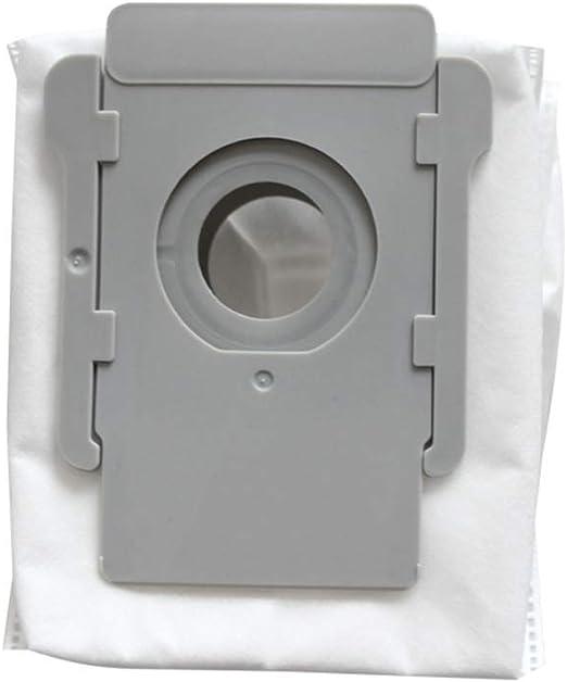 PanDada - Lote de 3 bolsas de polvo para aspiradora Robot Irobot Roomba I7 I7 + filtro de polvo a: Amazon.es: Hogar