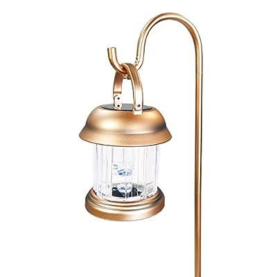 Commart 6 Outdoor Copper Color 2 LED Solar Hanging Landscape Path Lights Lantern Ships from USA