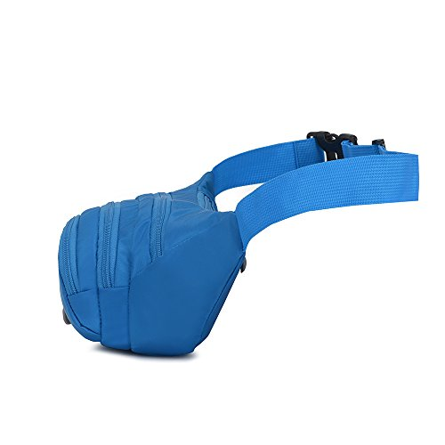 Fanny Pack SINOKAL Waist bag for Men Women Bum Bags Travel Hiking Hip Bum Waist Bag (Grey) by SINOKAL (Image #7)