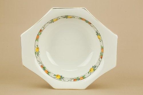 7 Large Dessert Set Vintage Soho Pottery BOWLS Porcelain Art