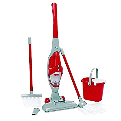 My First Cleaning Play Set with Lights & Sounds Vacuum, Broom, Mop and Pail (Item # TIDYKID): Office Products