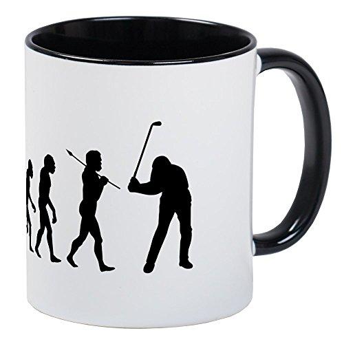 CafePress - Evolved To Golf Mug - Unique Coffee Mug, Coffee Cup -