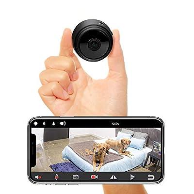 Veroyi Mini Hidden Spy Camera Full HD 1080P WiFi Wireless Remote Security Camera Nanny Cam Home Surveillance Camera by Veroyi