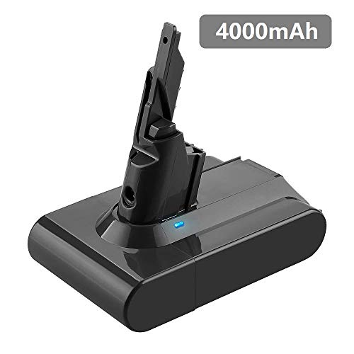4000mAh Replacement for Dyson V7 Battery Compatible with Dyson 21.6v V7 Motorhead Pro Trigger Animal Car+Boat Vacuum -