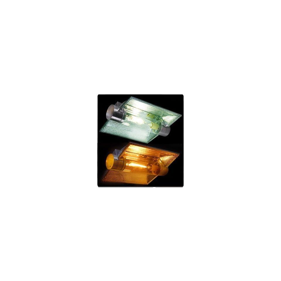 600 Watt HPS Hydroponic Grow Light Cool Tube Reflector Kit