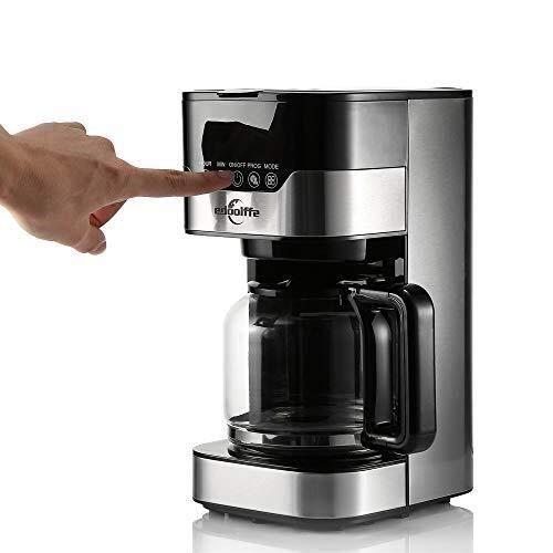 EGCLJ Mini Cafetera De Goteo - Seguridad Ahorro De Energía ...