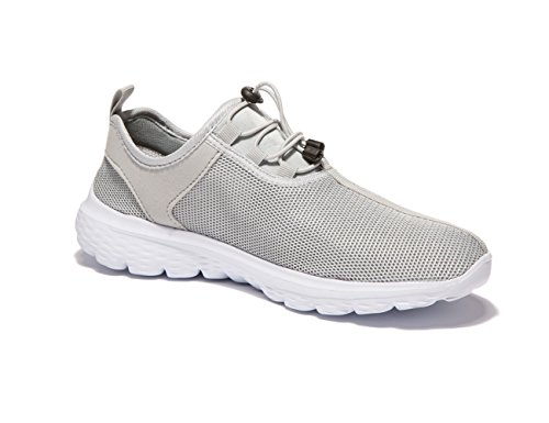 VSDANLIN - Zapatos Planos con Cordones hombre , color gris, talla 41