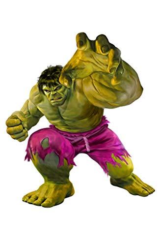 - Mark Spears Incredible Hulk Artist Signed Art Print 11x17