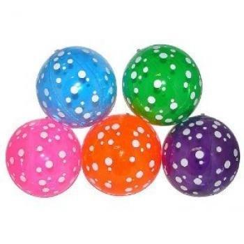 Fun Express Inflatable Polka-Dot Beach Balls (1 Dozen)
