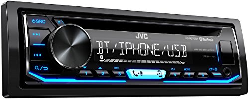 JVC KD-RD79BT Single DIN Bluetooth Car Stereo, iPod & Android USB Connectivity (Certified -