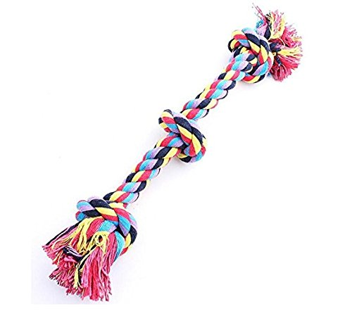Vivifying Dog Rope Toys, Durable Braided Cotton Pet Chew Rope