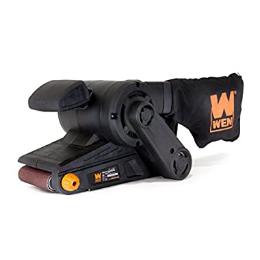 WEN 6321 7 Amp Heavy Duty Belt Sander with Dust Bag, 3  x 21