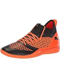 PUMA Men's Future 2.3 Netfit It Soccer Shoe, Color Shift-Biscay Green White Black