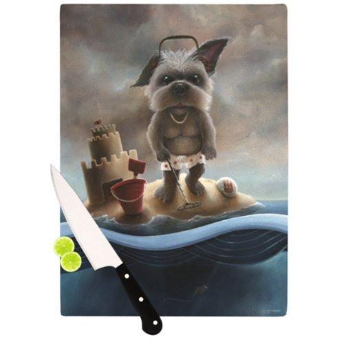 Kess InHouse Graham Curran Grover Cutting Board, 11.5 by - Grover Blocks