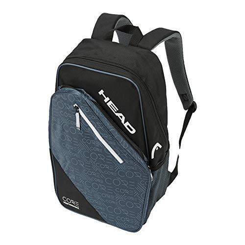 HEAD Core Backpack Tennis Bag, Black/Grey