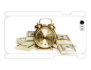 iPhone 6 Case - Photography - Gold Clock And Money 3D Full Wrap