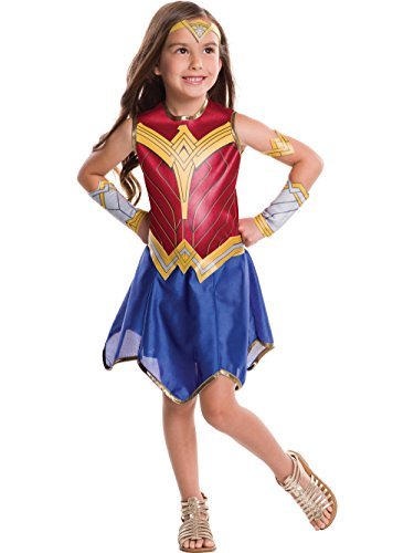 Rubie's Costume Girls DC Comics Wonder Costume, -