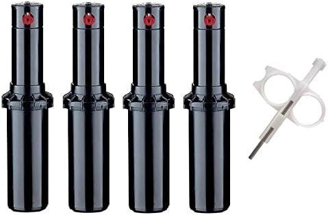 Includes Adjustment tool Hunter Industries PGP-ADJ-4-Key 4 Pack Hunter PGP-adj Rotor Sprinkler Heads