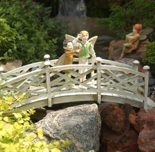 Jardín de hadas Chip y Dale puente: Amazon.es: Jardín