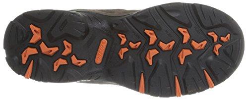 Hi-Tec Idaho Wp - Zapatillas de senderismo Hombre Marron (Dark Chocolate/Tangelo)