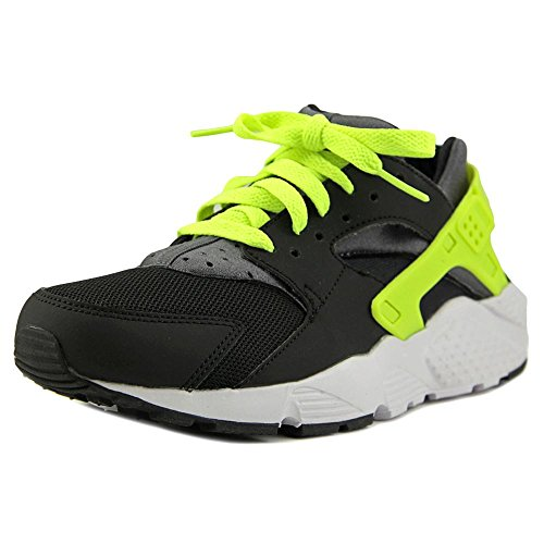 NIKE Huarache Run (GS) Youth US 5 Black Running Shoe