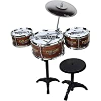 Twisha Enterprise Jazz Drum for Kids with Stand and Seat for Kids Boys