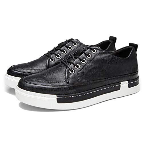 CóModos Negro Hombres Zapatos Mens Moda Casuales Mocasines Zapatos R7HBp