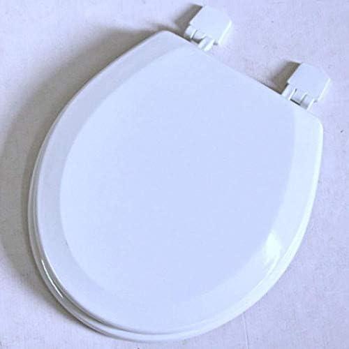 HZDXT MDF付き便座はホワイト、U/O/Vシェイプ便座のためにトイレのふたをインストールするには厚みのトップマウントされた超耐性簡単に遅くなることはありませ