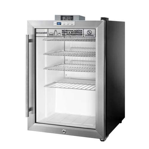 - Summit Appliance  SCR312L Countertop Beverage Refrigeration, Glass/Black