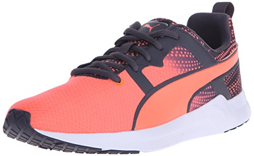 889178805378 - PUMA Women's Pulse XT Graphic 2 Running Sneaker, Fluorescent Peach/Periscope, 9 B US carousel main 0